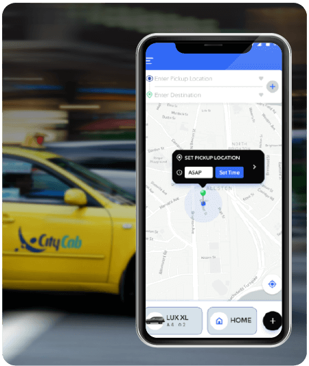 Uber Taxi Clone