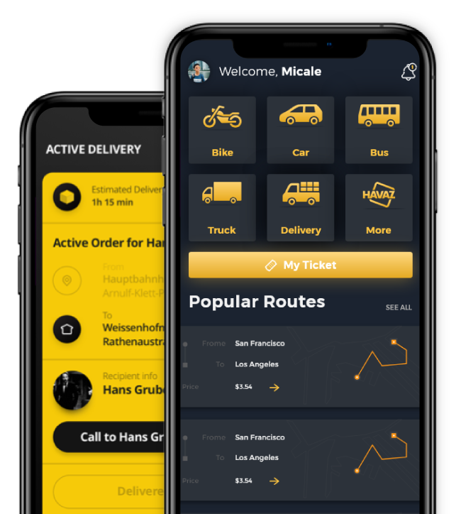 Transport & Logistics App Development Company